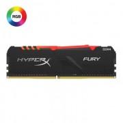 DDR4, KIT 16GB, 2x8GB, 3000MHz, KINGSTON HyperX Fury RGB, CL15 (HX430C15FB3AK2/16)