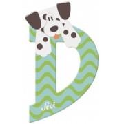 Sevi fa betűk - D - Dalmata kékes-zöld