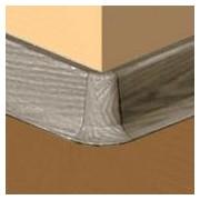 PBE605.240-S4 - Set 4 bucati piese colt exterior culoare gri maroniu pentru plinta PBC605