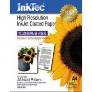 Хартия InkJet Coated Paper, A4, 105 g/m2,1440dpi - ITP-7210 - INKTEC-PAP-72A4