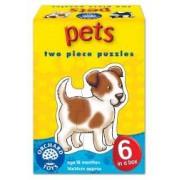 Set 6 puzzle Animale de companie 2 piese PETS