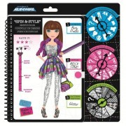 Fashion Angels Project Runway Fashion Spin & Style Challenge Sketch Book