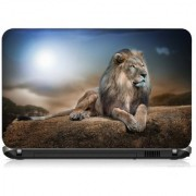 VI Collections LION ON MOUNT PRINTED VINYL Laptop Decal 15.5