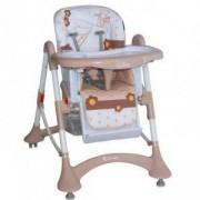 Столче за хранене Elite - Beige Stork, Lorelli, 075387
