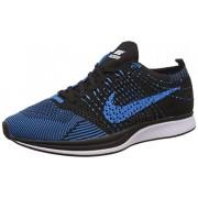 Nike Men's Flyknit Racer Blue Running Shoes - 7.5 UK/India (42 EU)(8.5 US)(526628-411)