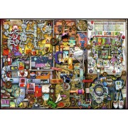 Puzzle Ravensburger - Colin Thompson: Inventor, 1.000 piese (19710)