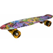 Placa skateboard 4 roti silicon Grafitti pentru copii