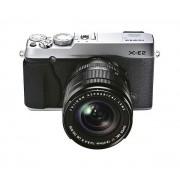 X-E2 - argenté - Appareil photo numérique + Objectif 18-55