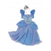 Costum carnaval fete Cenusareasa cu coronita