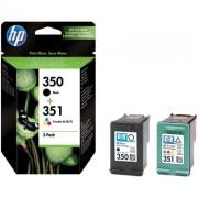 Tinteiro HP 350/351 Preto/Cyan/Magenta/Amar - SD412EE