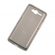 Husa Back Cover Case telefon Kruger & Matz Drive 2, silicon, protectie contra zgarieturilor, Gri