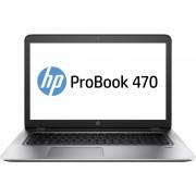 Laptop HP ProBook 470 G4, 17.3 inch LED FHD Anti-Glare, Intel Core i7-7500U, NVIDIA GeForce 930MX 2GB, RAM 8GB DDR4, SSD 256 GB, Windows 10 PRO 64bit, Silver