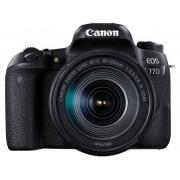 Canon EOS 77D Digitale spiegelreflexcamera Incl. EF-S 18-135 mm IS USM 24.2 Mpix Zwart Bluetooth