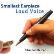 MicorEar New más pequeño Micro espía Auricular Bluetooth Pen Wireless Micro Bug escondida para comunicación Privada