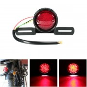Harley DC 12V Motorcycle LED Tail Stop Brake Rear Light Lamp For Harley Bobber Chopper Cafe Racer