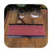 TOIT Funda para Teclado mecánico Corsair Gaming K63 Rojo K65 RGB Lux Skin Film Office Desktop Keyboard Anti Dust Cover, Anaranjado