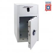 Sistec EM3-D kassa en afstortkluis