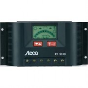 Regulador De Carga Solar 15a Y 12v-24v Steca Pr1515 Display Lcd Digita