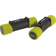 Greutati Aerobic 2 X 0,5 Kg/verde