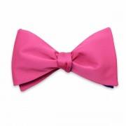 Férfiak klasszikus kikötve pillangó Willsoor 8155 a rózsaszín szín