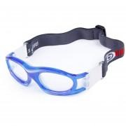 0860-01 Baloncesto Deportes Gafas Gafas De Protección De Seguridad Para Niños Con Correa Ajustable (azul)