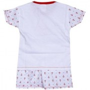 Anchor Printed Night Suit - Red ( 0-3 Month)