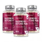 WeightWorld Framboos ketonen puur - 270 capsules voor 3 maanden voor een verbeterde stofwisseling