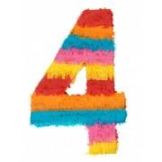 Vegaoo Piñata Zahl 4