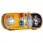 Cute Electron Music Police Car for Babies Toy, High Quality Light Flashing Music Racing Car