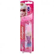 Colgate Kids Barbie Escova de dentes com bateria para crianças extra suave