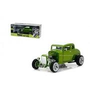 NEW DIECAST TOYS CAR GREENLIGHT 1:18 HOLLYWOOD - GAS MONKEY GARAGE - 1932 CUSTOM FORD HOT ROD (METALLIC GREEN) 12974