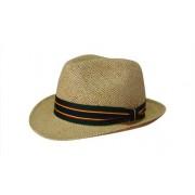 Headwear Professional Fedora Style String Straw Cap S4287