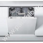 WHIRLPOOL WIO 3T321 P Teljesen beépíthetõ mosogatógép