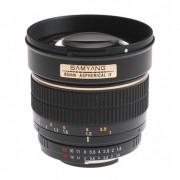 Samyang 85mm Obiectiv Foto DSLR F1.4 Montura Sony A