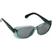 Calvin Klein Aviator Sunglasses(Green)
