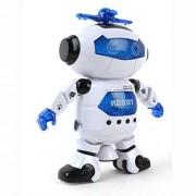 XUANOU Fashion Electronic Walking Dancing Smart Space Robot Astronaut Kids Music Light Toys