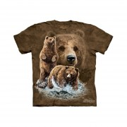 Playera 4d - Unisex Infantiles - 3482 Find 10 Brown Bears