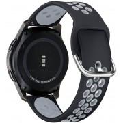 TECH-PROTECT Řemínek pro Samsung Galaxy Watch 45mm - Tech-Protect, Softband Black/Gray