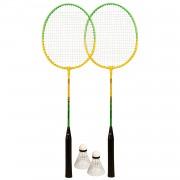 Avento Badminton Set Groen/Geel