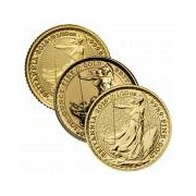 1/10 Unze Gold Britannia diverse Jahrgänge