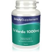 Simply Supplements Té Verde 1000 mg - 120 Cápsulas