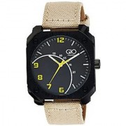 Giordano Quartz Black Dial Mens Watch-FG1001-02