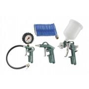 Metabo Druckluft-Werkzeug Set LPZ, 4-teilig