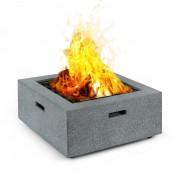 Blumfeldt Karthago Brasero 40 x 40 cm BBQ-Pit Parachispas MagicMag Aspecto de granito (HHG10-Karthago)
