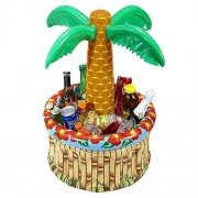 Widmann 04865-Inflatable Palm Tree Beverage Cooler by