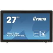 IIYAMA ProLite T2735MSC, 68,6 cm (27''), Projected Capacitive, Full HD, nero