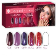 Elegant CrystaLac (Gel-Lac) Collection - 6 x 15ml