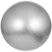 Gorilla Sports Fitness bal grijs 65 cm incl. handige pomp