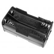 4 cellás vevő akkumulátor tartó (AA)