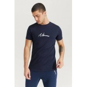 Nimes T-Shirt Core T-Shirt Blå
